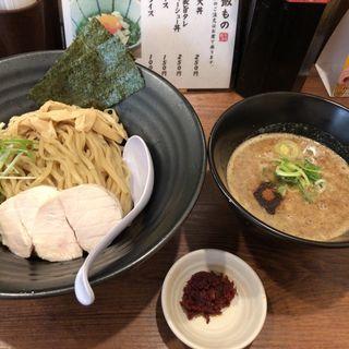 鰹と鶏のどろつけ麺