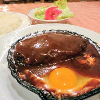 ハンバーグセット(洋食キムラ 野毛店 (ヨウショクキムラ))