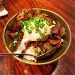 牛すきやき煮丼