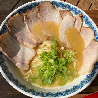 鶏白湯ラーメン(チャーシュー増し)