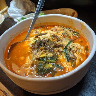 ユッケジャンハルサメスープ(ゆきんこ)
