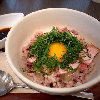 みのりのT・K・G しんたまご ご飯(みのりカフェ 仙台店 )