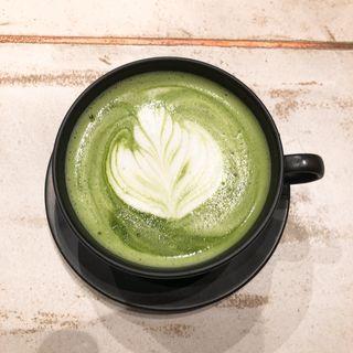 抹茶ラテ(ホット)