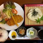 ロースカツ定食(日替り定食)