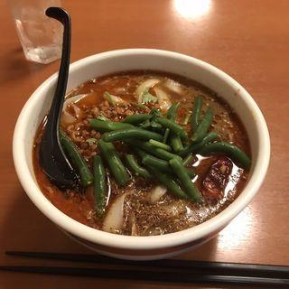 本格!辛いスープのマーラ刀削麺(龍興刀削麺舗 )