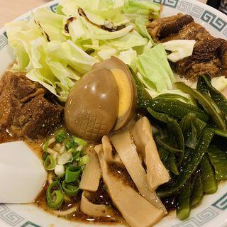 太肉麺(ターロー麺)(熊本ラーメン 桂花 池袋東武店)