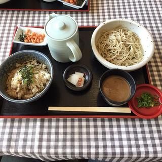 瑞穂蕎麦定食