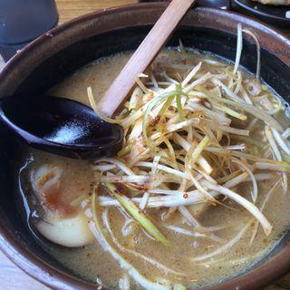 北海道味噌肉ネギラーメン