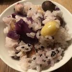 栗とむかごと季節の根菜の土鍋ごはん(たべごと屋のらぼう (たべごとや・のらぼう))