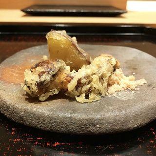 松茸天ぷら(鮨 鯛之鯛)