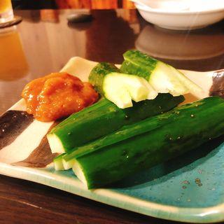 柚子味噌きゅうり