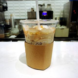 アイス沖縄黒糖ラテ(ドトールコーヒーショップ 御茶ノ水北店 (DOUTOR COFFEE))