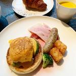 エッグベネディクト(朝食)