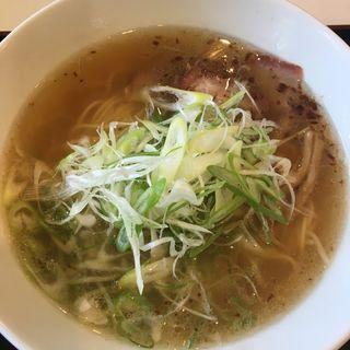 葱焼豚麺(らーめん あだむす (亜舵夢巣))