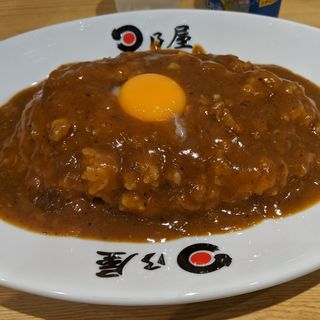 日乃屋カレー生玉子
