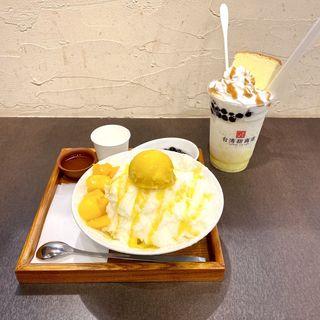 台湾かき氷(芒果)(台湾甜商店 阪急三番街店)
