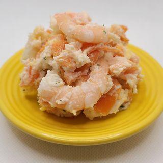 海老と明太子のポテトサラダ