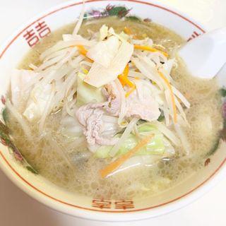 タンメンと半チャーハン(京華 )