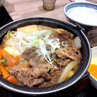 黒毛和牛すき鍋膳