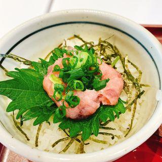ミニまぐろたたき丼(丼丼亭 天保山店 )