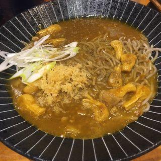 きざみカレー饂蕎 USO(香寿庵 新町砂場店)