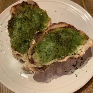 殻付き牡蠣の香草バター焼き(シブヤバル209 )