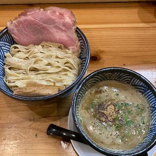濃厚煮干し白湯つけ麺(極麺 青二犀 (ゴクメン アオニサイ))