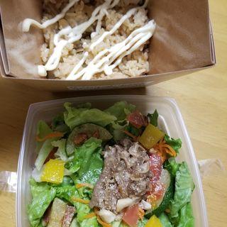 牛しぐれ煮サラダご飯BOX(柿安ダイニング 西武池袋本店)