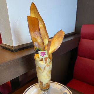 芋パフェ(ルカフェアンドール)