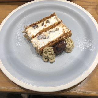 KIHACHIのマロンパイ(キハチカフェ 日比谷シャンテ店)