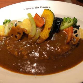 季節の野菜カレー(ヴァスコ・ダ・ガマ 北園町店)