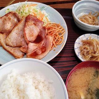 豚の生姜焼き定食(味処いちむら (いちむら))