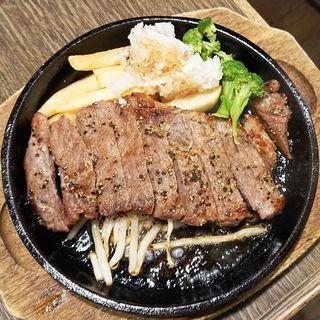 サーロインステーキ(おろしポン酢)
