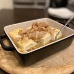 焼き豆腐のアヒージョ