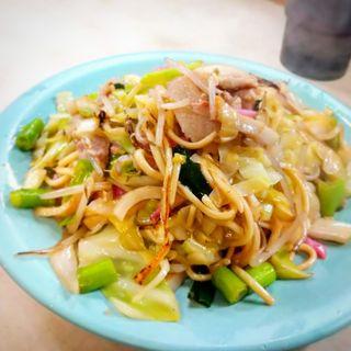 皿うどん(北京料理 新生飯店)