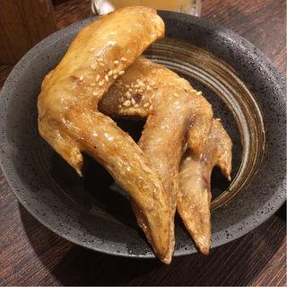 本場!手羽先唐揚げ(3本)(焼きとん大国 サンモール一番町)