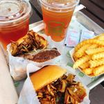Autumn Maitake Burger