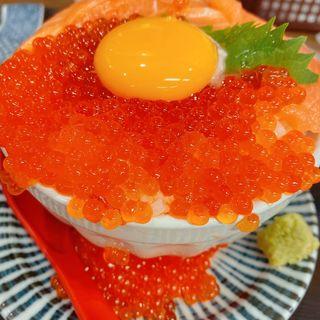 サーモンいくら丼(お魚食堂こたや)