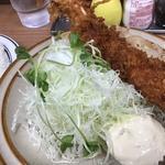 エビフライ生姜焼きセット