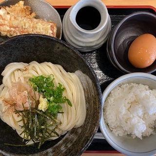 上々のお昼の定食(Aランチ)(うどん上々 )