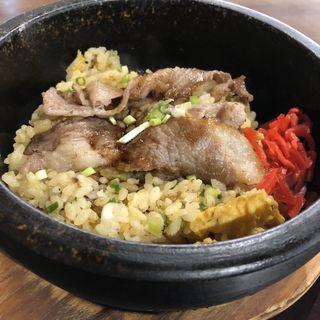 石焼カルビ炒飯