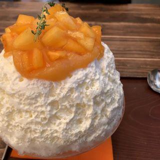 柿氷(サカノウエカフェ )