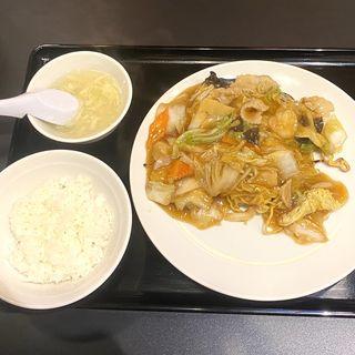あんかけ焼きそば定食(東京五十番  すすきの店)