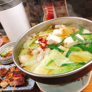 もつ鍋(酒一番 (さけいちばん))