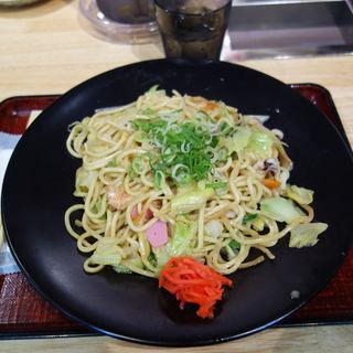 小浜太麺皿うどん(長崎雲仙 小浜ちゃんぽん 鉄蔵)