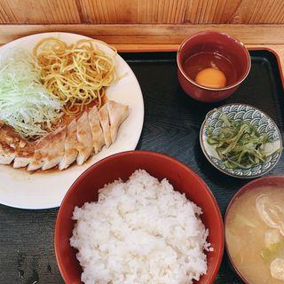 豚バラニンニク醤油焼き(久留実)