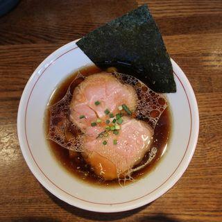 大和肉鶏の中華そばしょうゆ(らー麺屋 バリバリジョニー )