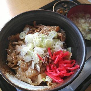 豚丼(天然温泉 たかもりの湯)