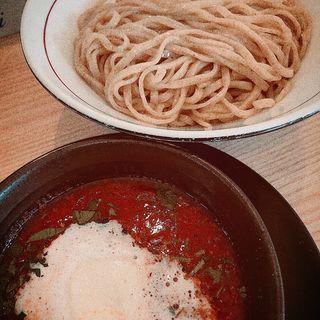 トマトクリームつけ麺(拉麺開花)