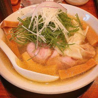 特製鶏塩ネギメントピ(中華そば ココカラサキゑ)